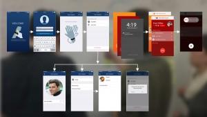 Final app design